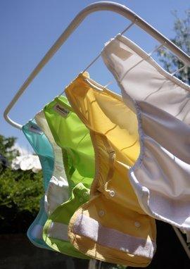 A mosható pelenkák mosása