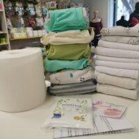 Újszülött mosható pelenka próbacsomag KÖLCSÖNZÉS