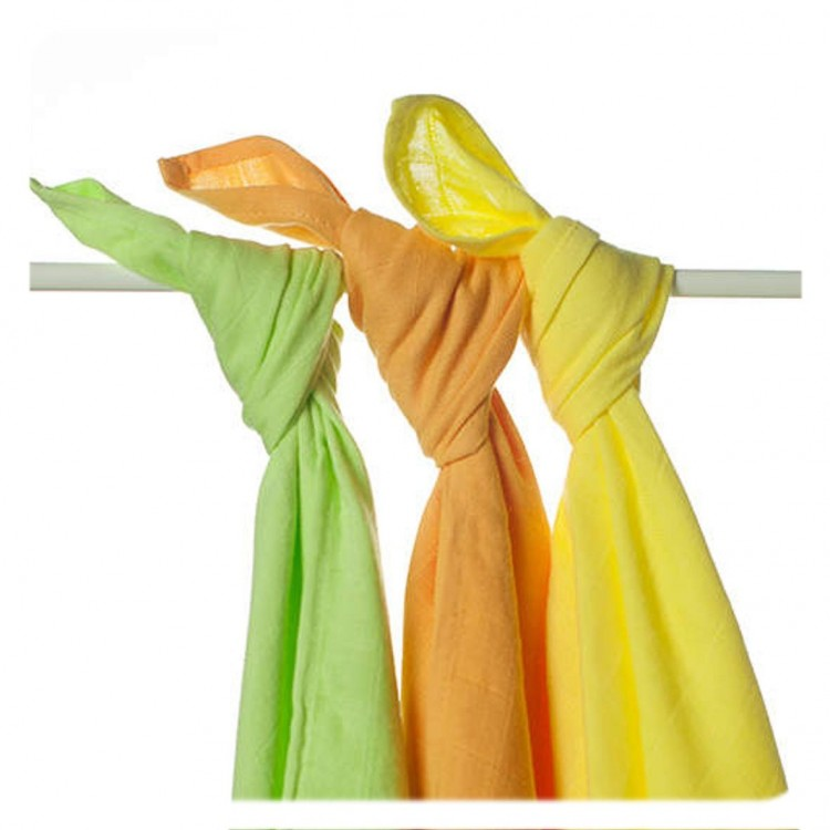 Kikko bambuszos textil pelenka vegyes színekben
