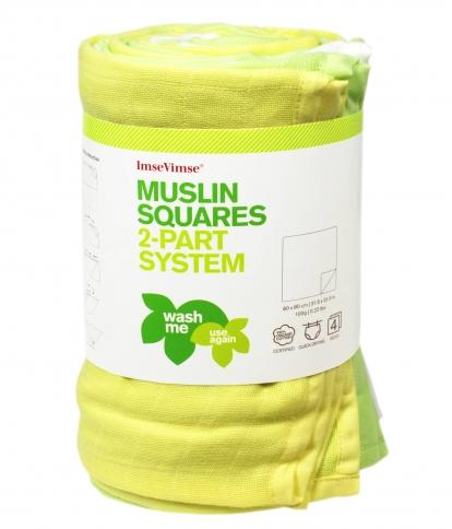ImseVimse organic cotton színes pelenka