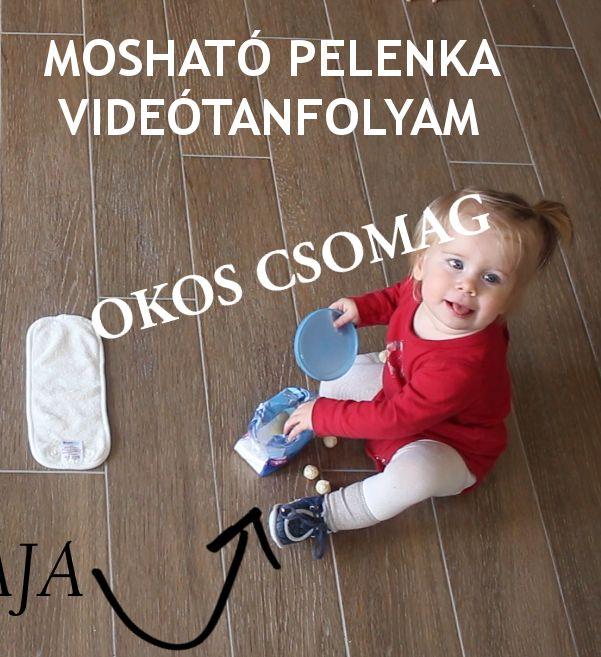 Mosható pelenka videótanfolyam