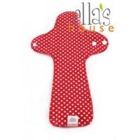 Ella's House mosható női betét, maxi - piros pöttyös
