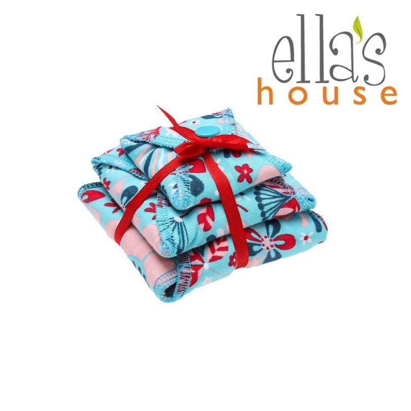 Ella's House Moon Pads - mosható női betét csomag, limitált mintás