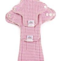 Ella's House Moon Pads - mosható női betét csomag - rózsaszín csíkos