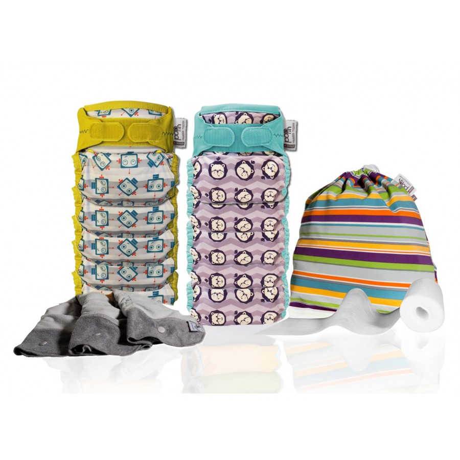 Gazdaságos mosható pelenka csomagok