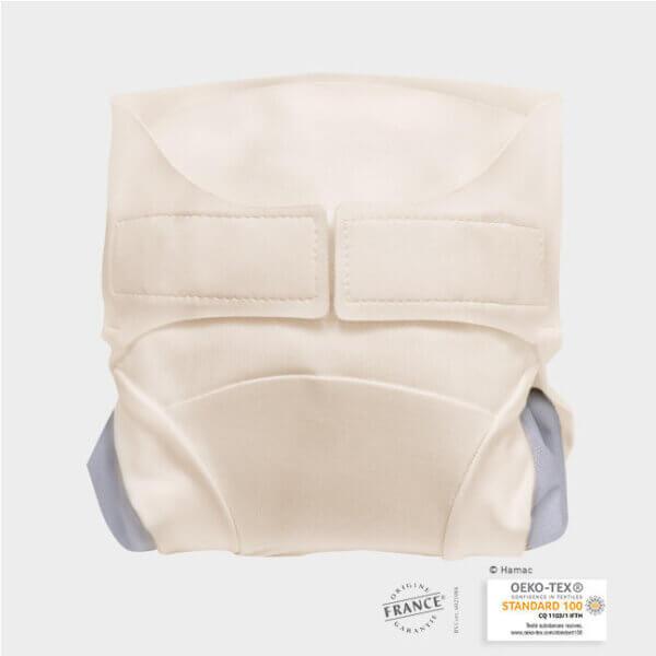 TMAC mosható pelenka külső - Fehércsoki