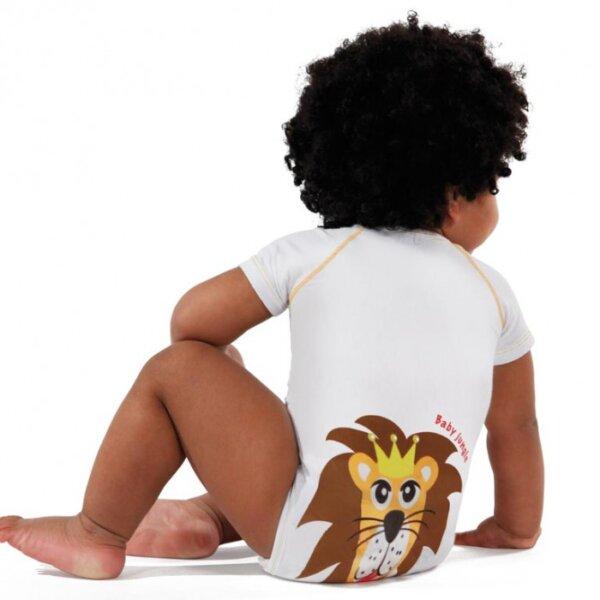 JBIMBI egyméretes pamut body - oroszlán