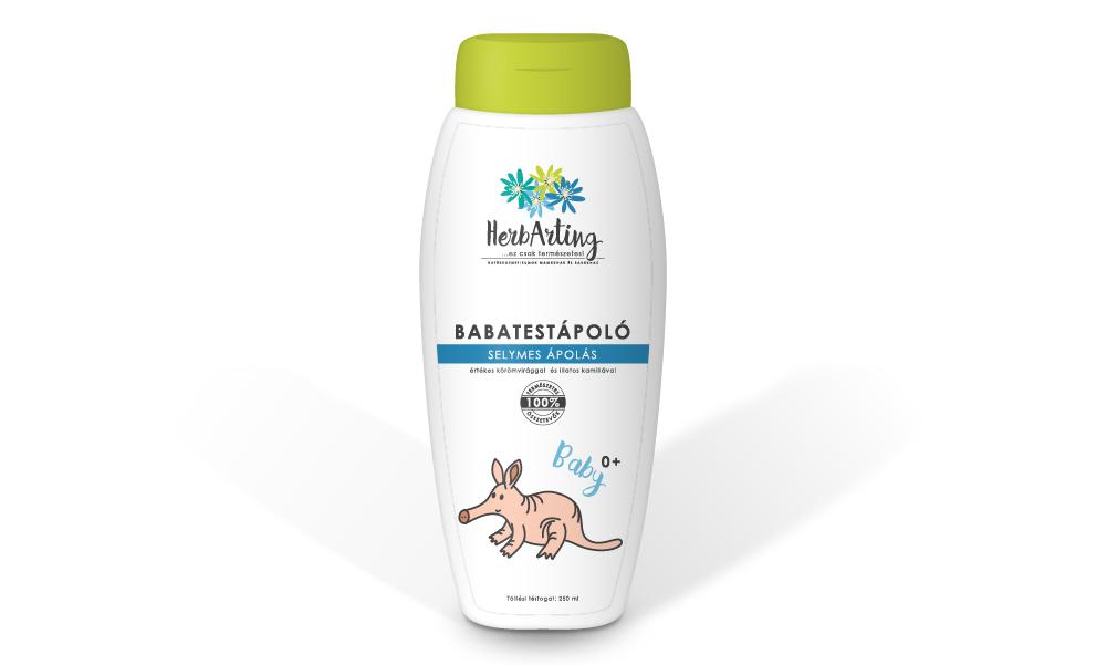 HerbArting testápoló 250 ml - körömvirággal