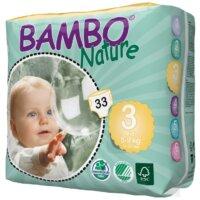 Bambo Nature Öko eldobható pelenka - 3 (5-9kg)