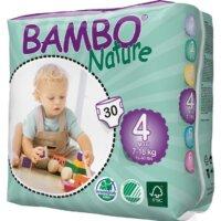 Bambo Nature Öko eldobható pelenka - 4 (7-18 kg)