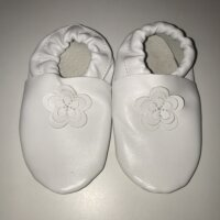 Maus puhatalpú cipő-fehér