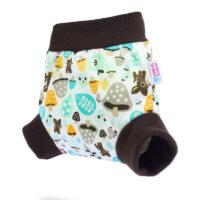Petit Lulu nadrágfazonú PUL mosható pelenka külső - gomba