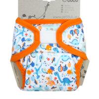 Petit Lulu PUL mosható pelenka külső - Kőkorszaki