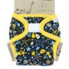 Petit Lulu PUL mosható pelenka külső - Óceán kincse