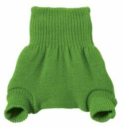 Disana nadrág fazonú biogyapjú pelenkakülső - zöld