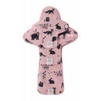 Ella's House Moon Pads - mosható női betét csomag - Widelife pink