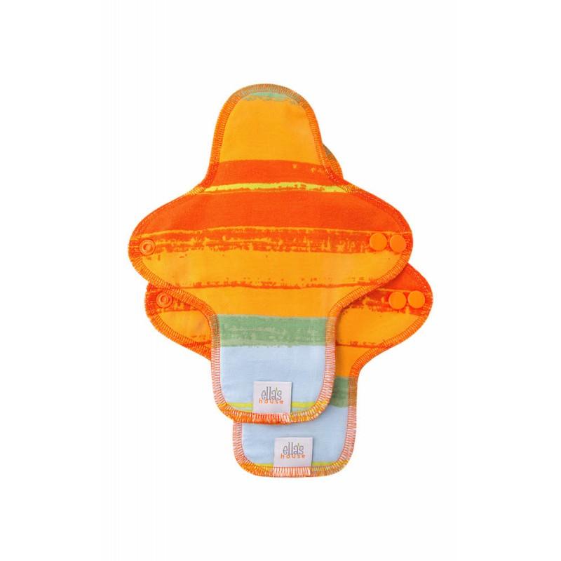 Ella's House mosható női betét -normál, Jungle Orange