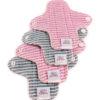 Ella's House mosható tisztasági betét - rózsaszín csíkos