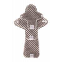 Ella's House Moon Pads - mosható női betét csomag - barna pöttyös