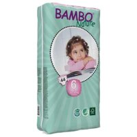 Bambo Nature Öko eldobható pelenka 44 db - 6 (16-30 kg)