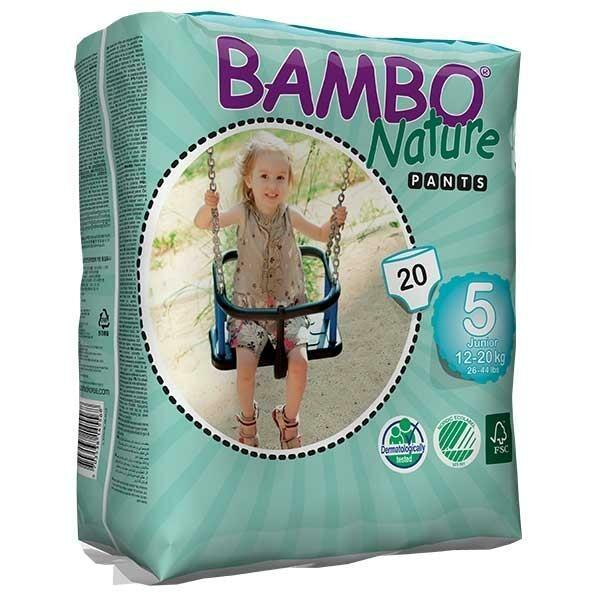 Bambo Nature Öko bugyipelenka - 5 (12-22 kg)