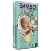 Bambo Nature Öko eldobható pelenka 66 db - 3 (5-9 kg)