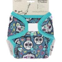 Petit Lulu PUL mosható pelenka külső - Koponyák