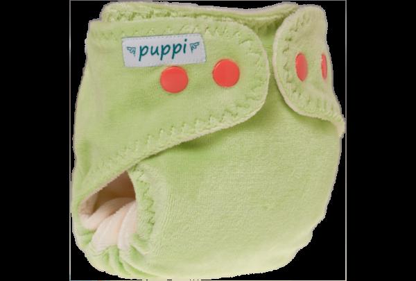 Puppi újszülött zsebes nadrágpelenka - Chilling mint