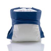 Culla di Teby csónakos mosható pelenka - Soft touch Kék és fehér