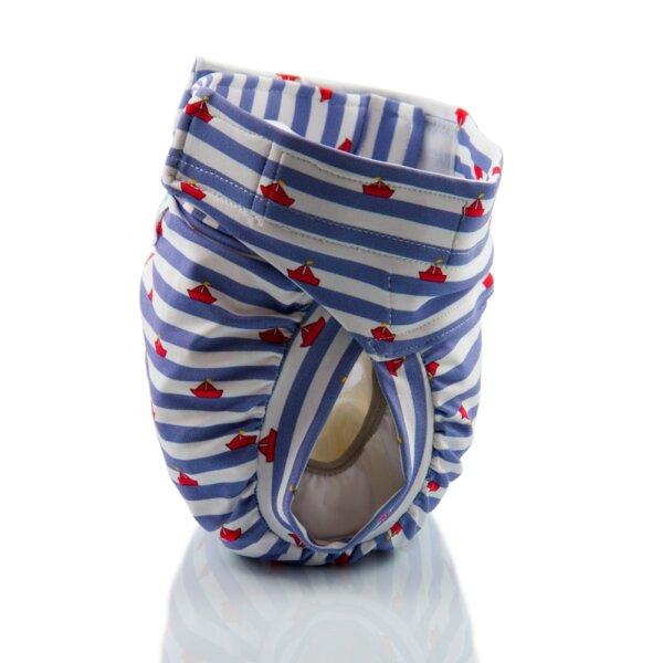 Culla di Teby csónakos mosható pelenka - Soft touch Kis tengerész