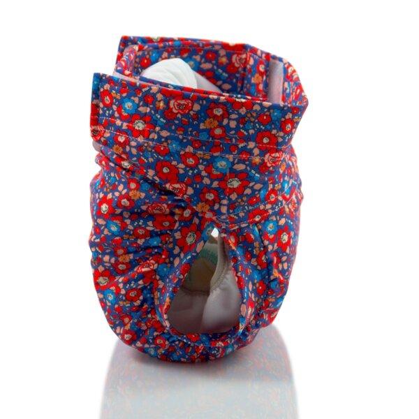 Culla di Teby csónakos mosható pelenka - Soft touch Virágzó mező