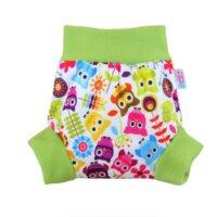 Petit Lulu nadrágfazonú PUL mosható pelenka külső - Boldog bagoly