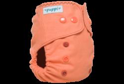 Puppi gyapjú mosható pelenka külső Mini OS - Coral Pink
