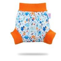 Petit Lulu nadrágfazonú PUL mosható pelenka külső - Kőkorszaki
