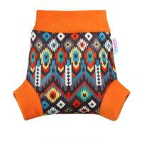 Petit Lulu nadrágfazonú PUL mosható pelenka külső - Etno