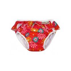 ImseVimse mosható úszópelenka - Pink daisy