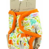Petit Lulu PUL mosható pelenka külső - Rókák