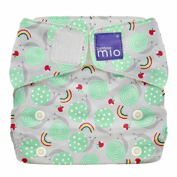 Bambino Mio MioSolo zsebes pelenka – Snail surprise