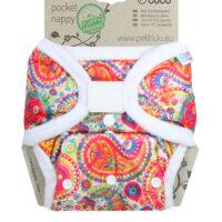 Petit Lulu AIO mosható pelenka - Kelet színei