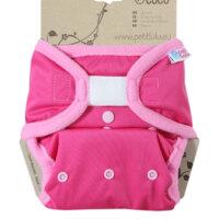 Petit Lulu PUL mosható pelenka külső - Pink