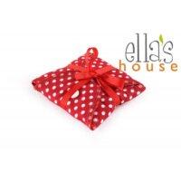 Ella's House mosható női betét maxi - piros pöttyös