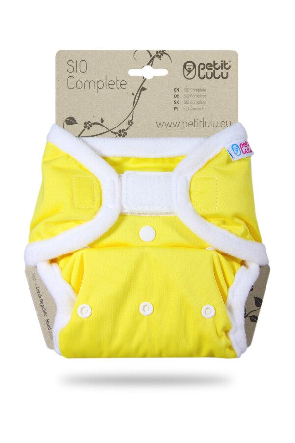Petit Lulu SIO mosható pelenka - Sárga