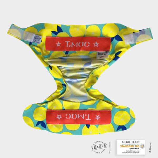 TMAC mosható pelenka külső - LIMITÁLT Citromok
