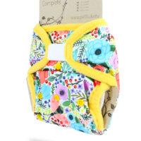 Petit Lulu SIO mosható pelenka - Virágzó kert
