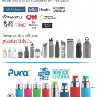 Pura® szilikon lapos dugó (3db / csomag) - Piros, Kék, Zöld
