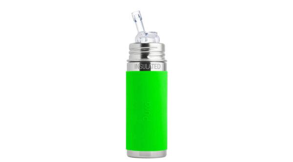 Pura TERMO® kulacs szívókával - Zöld (260 ml)