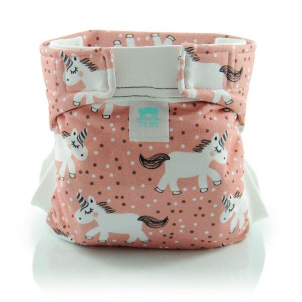 Culla di Teby csónakos mosható pelenka - biopamut Pink Póni