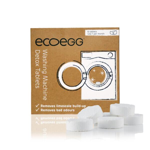 Ecoegg Detox mosógéptisztító tabletta 6db