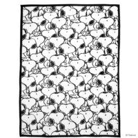 PEANUTS takaró Snoopy allover 130x170cm
