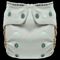Puppi gyapjú mosható pelenka külső V3 - Iguana